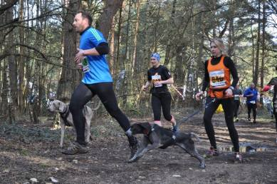 The Human Race MudMan 10/15km, Canicrossers, Camberley, 7th March 2015